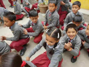 Play time for School Aid India