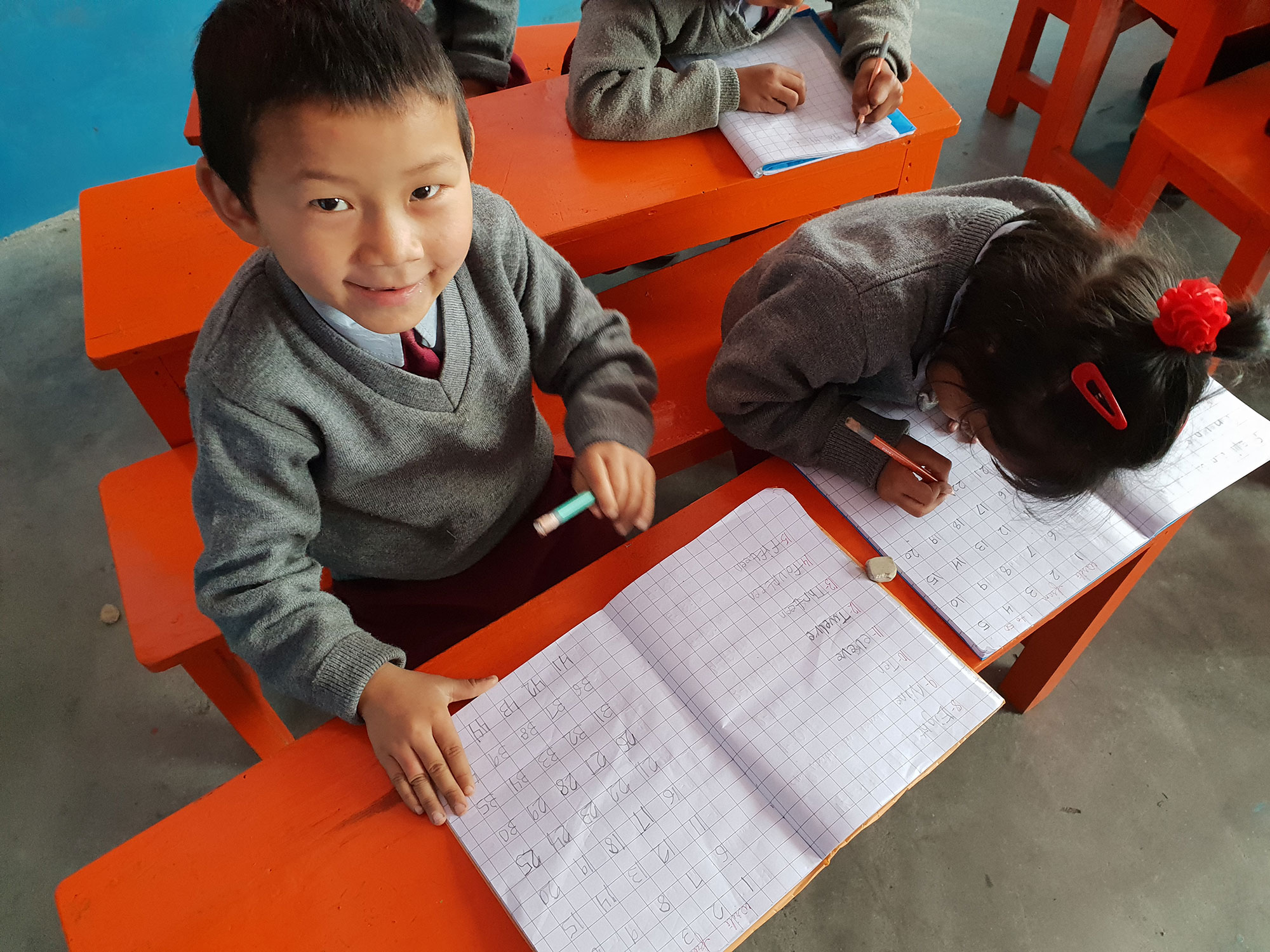 Learning maths in the Himalayas
