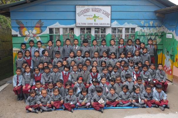 The students of School Aid India