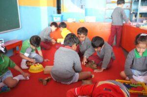 Children playing in Darjeeling, India