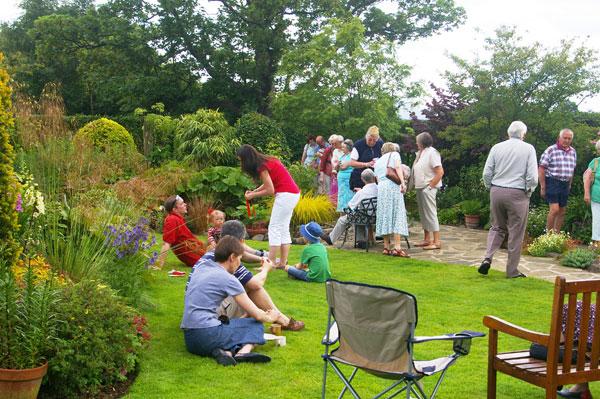Helen Jones' open garden