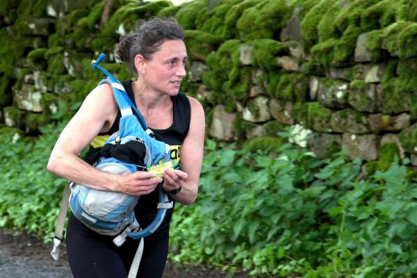 Volunteer running a marathon to raise money