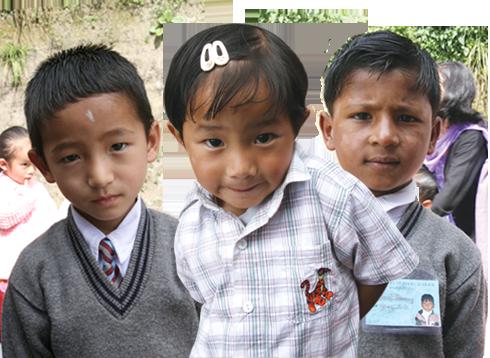 Children at School Aid India